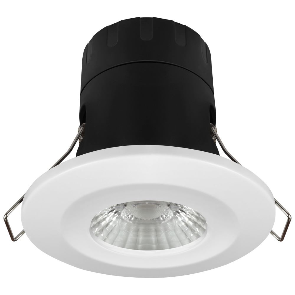 11274 Firesafe Eco Led Downlight Dimmable 6w 3000k Crompton 30ma Dimmer All In One