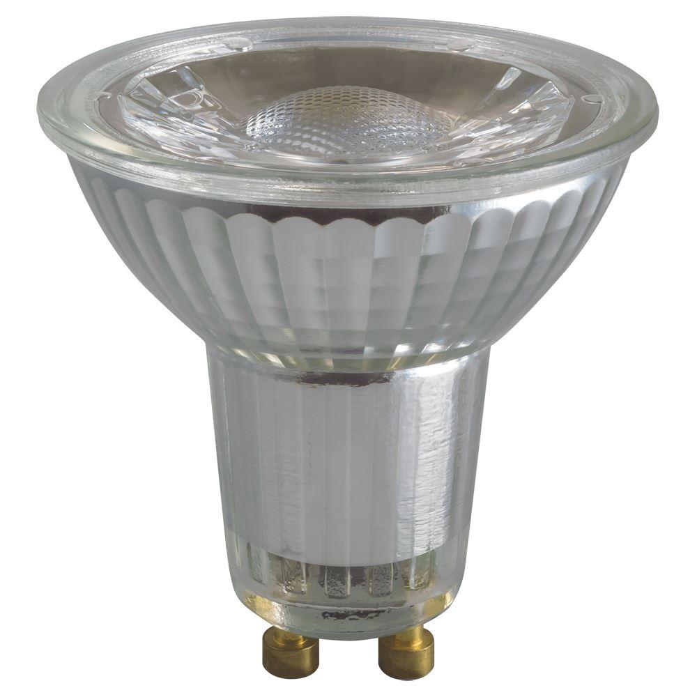 3279 led gu10 glass cob 5w 4000k crompton lamps ltd. Black Bedroom Furniture Sets. Home Design Ideas