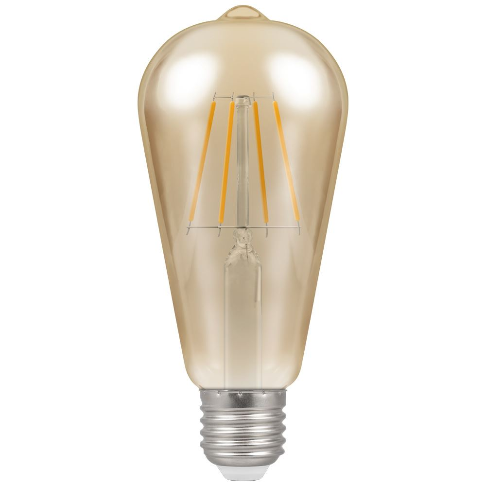 4238 - LED ST64 Filament Antique 5W Dimmable 2200K ES-E27