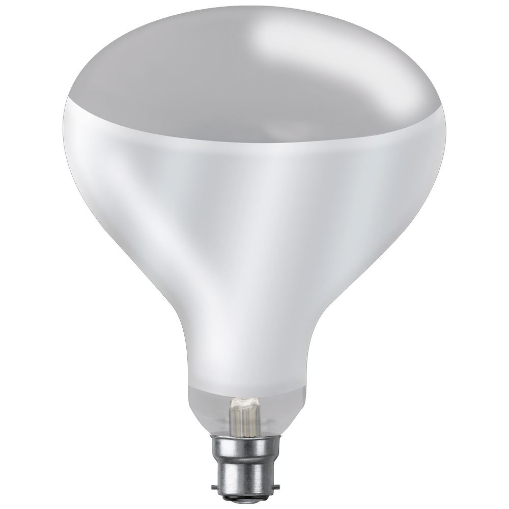 Ir250hgcbc Infra Red Reflector Clear Hard Glass 250w Bc