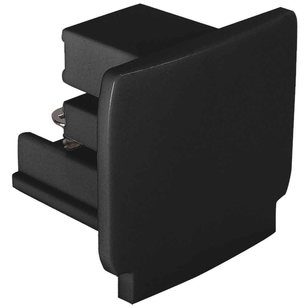 10871 - End Cap For 3 Circuit Track Black