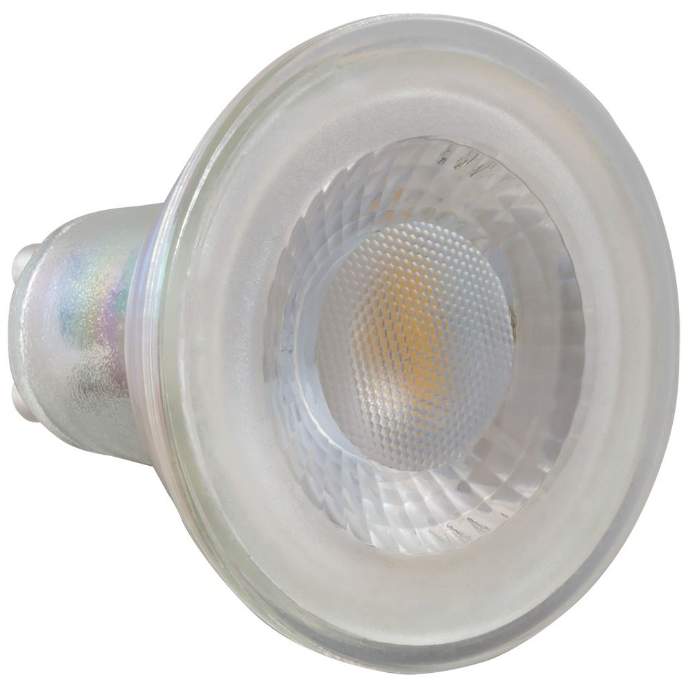 4870 - LED GU10 Glass SMD 4.5W 2700K