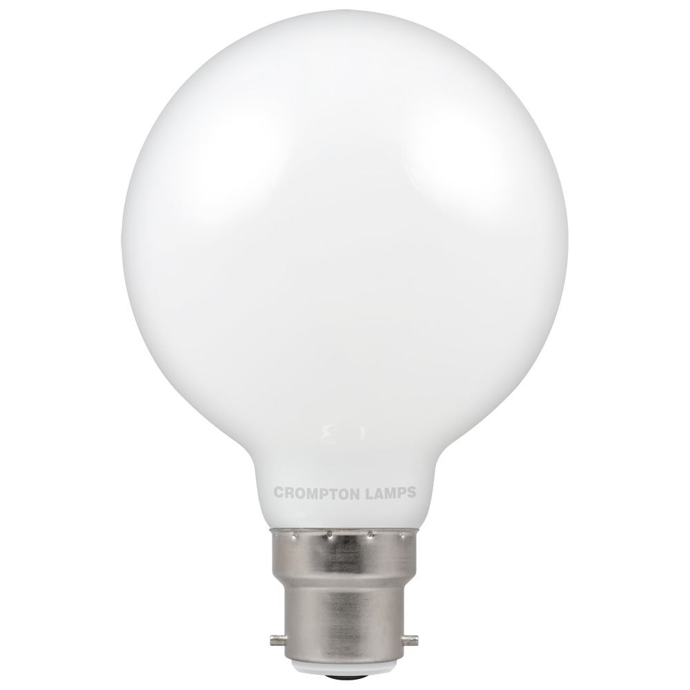 5471 - LED Globe G80 Opal 7W Dimmable 2700K BC-B22d