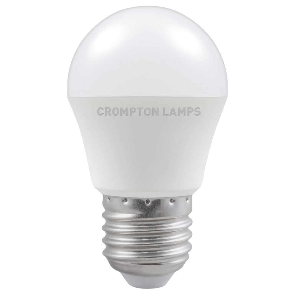 11571 - LED Round Thermal Plastic 5.5W 6500K ES-E27