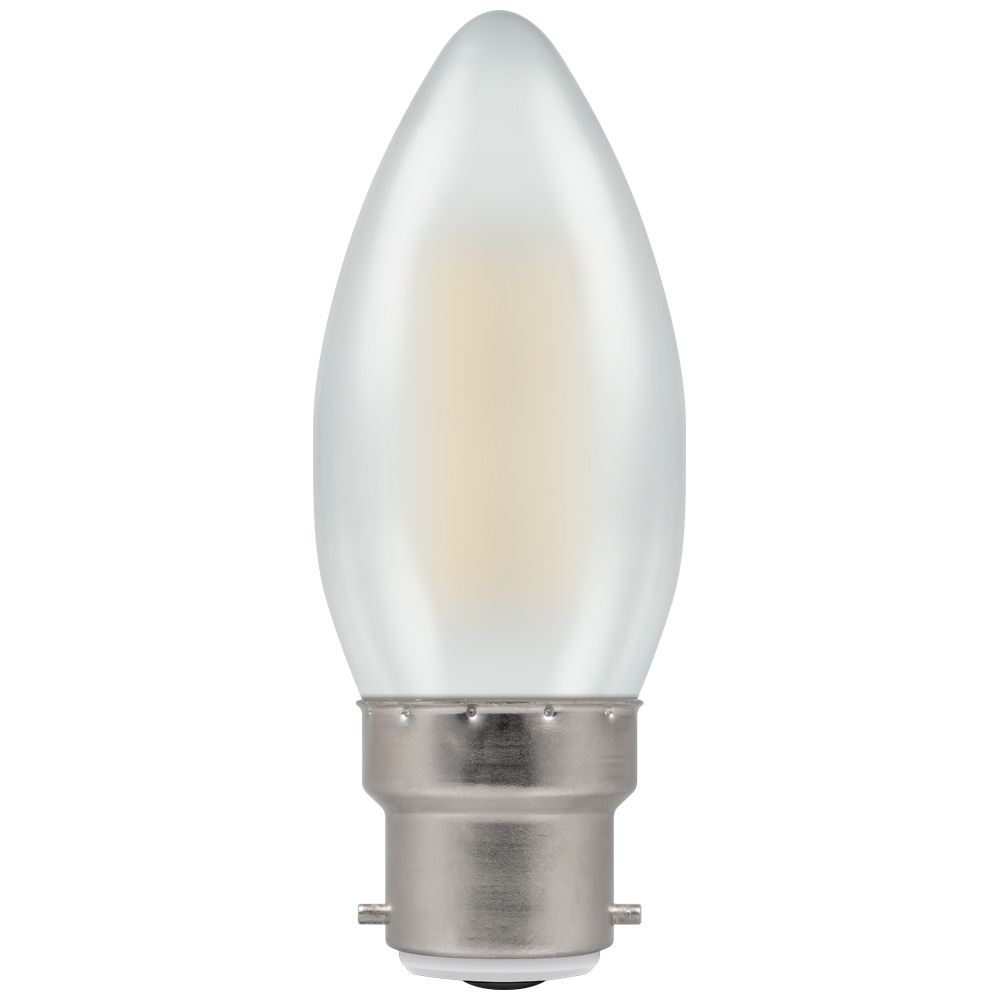 5976 - LED Candle Filament Pearl 4W 2700K BC-B22d