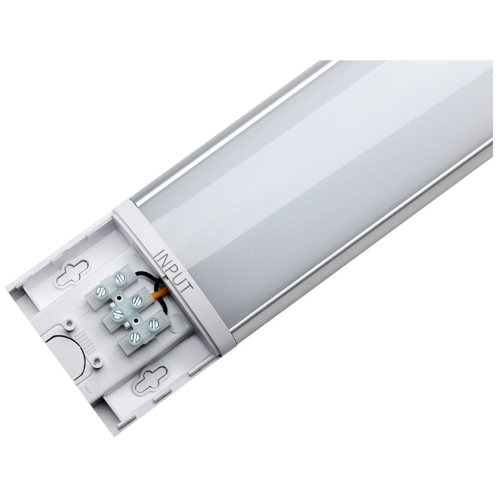 12257 - Photius Integrated 1500mm Linear MW Batten 60W Tri-Colour Select