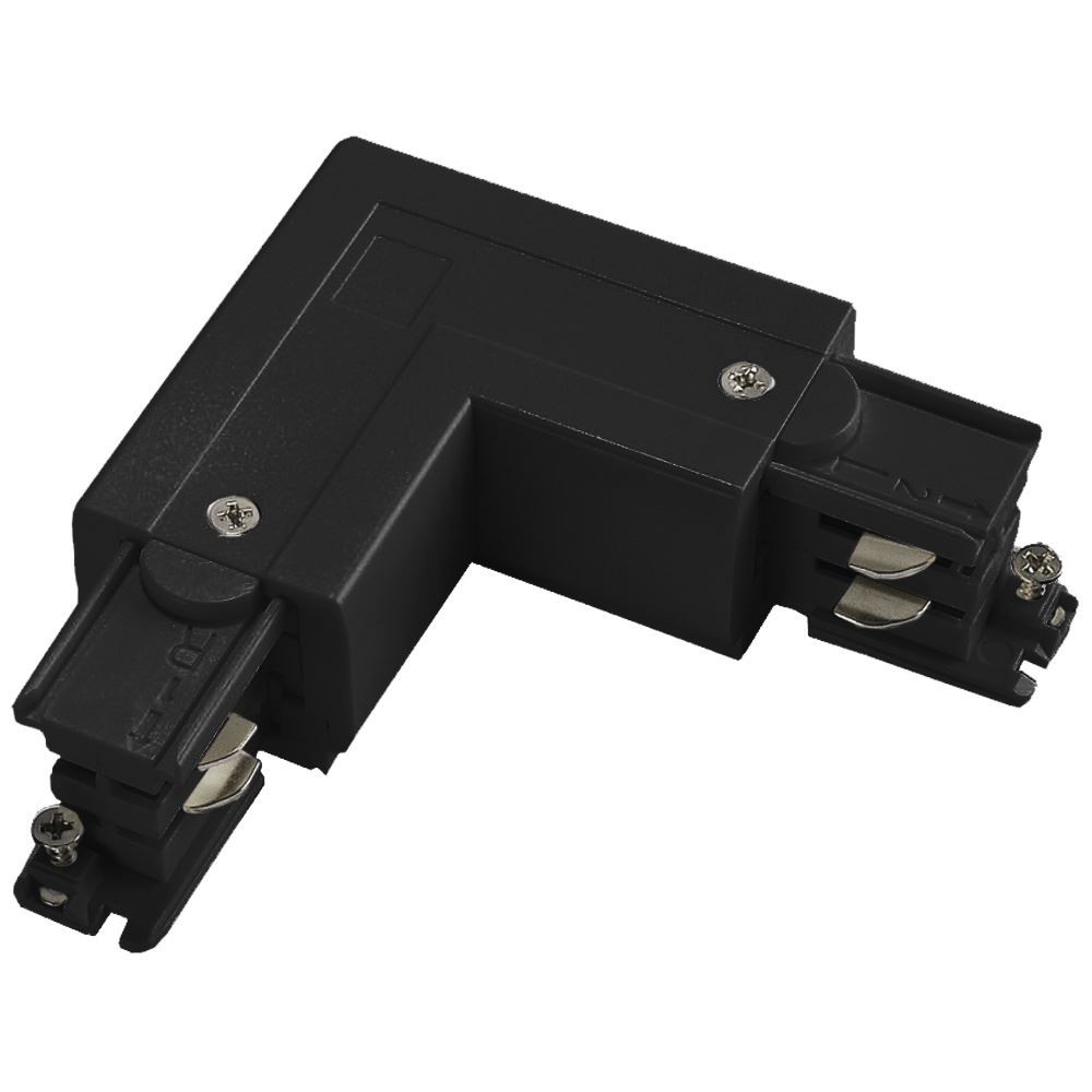 10901 - Right Coupler For 3 Circuit Track Black