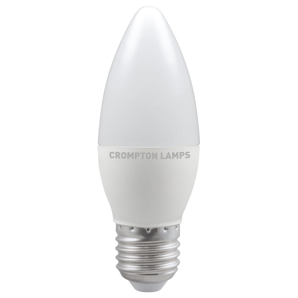 11311 - LED Candle Thermal Plastic 5.5W 2700K ES-E27