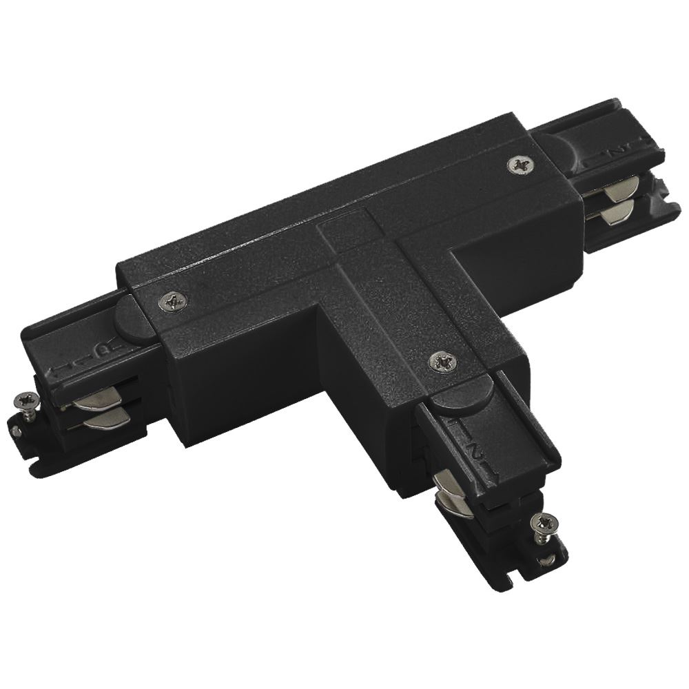 10956 - T Coupler Right Outside For 3 Circuit Track Black