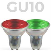 LED Coloured GU10