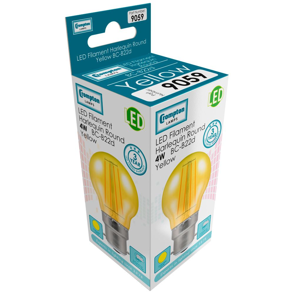 Round-Filament-Harlequin-Yellow-LED-4W-BC-9059