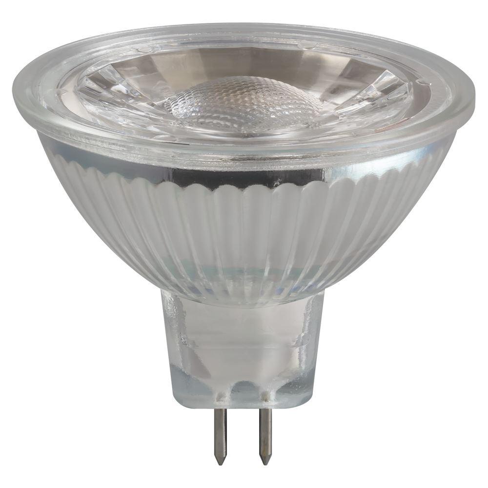 3309 LED MR16 Glass COB 5W 12V 4000K GU5.3 Crompton