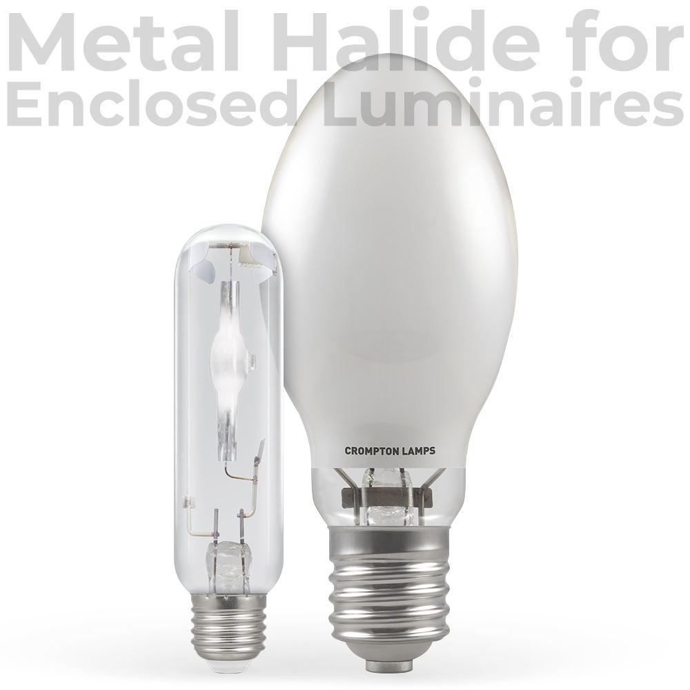 Metal Halide For Enclosed Luminaires Crompton Lamps Ltd