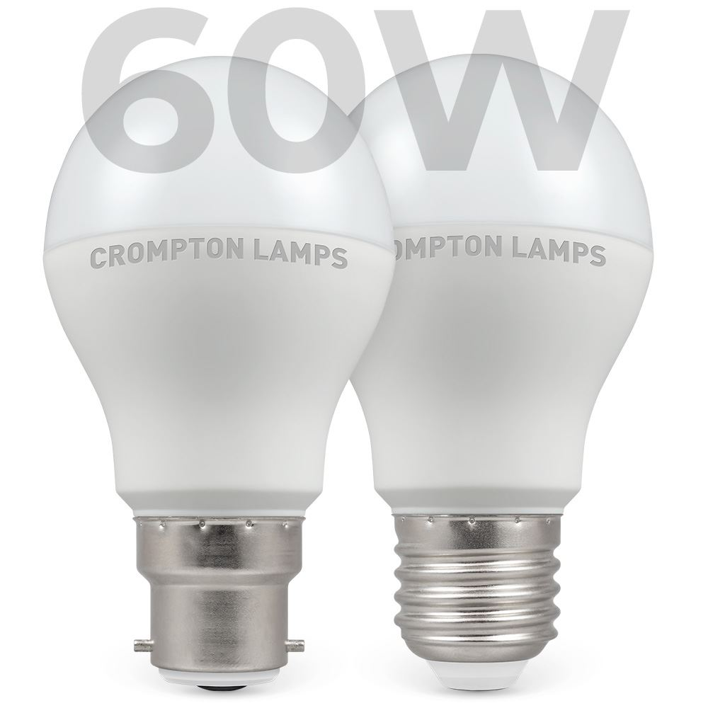 60w Equivalent Crompton Lamps Ltd