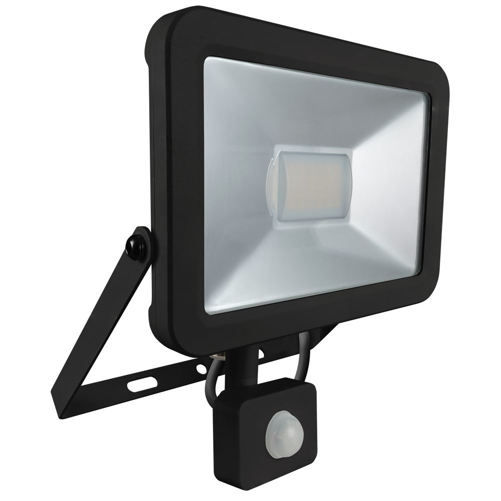 Atlas Mini Floodlight with PIR IP66 30W 2400lm-6447