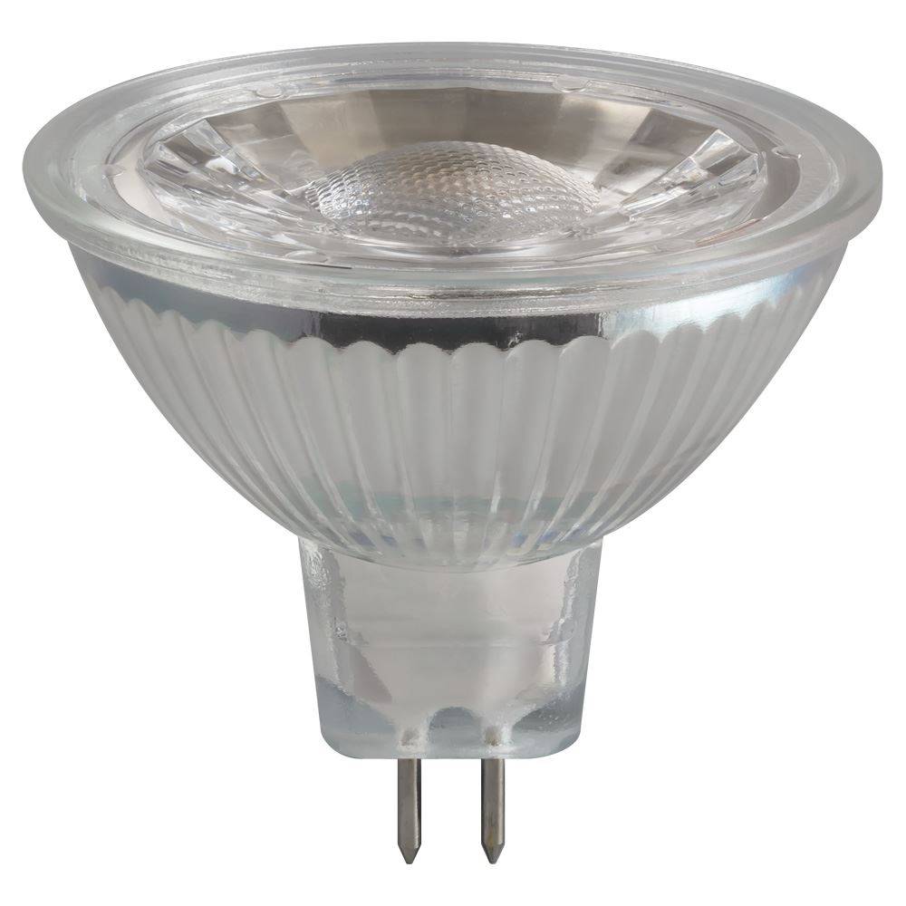 3293 Led Mr16 Glass Cob 5w 12v 2700k Gu5 3 Crompton Lamps Ltd