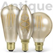 LED Filament Antique