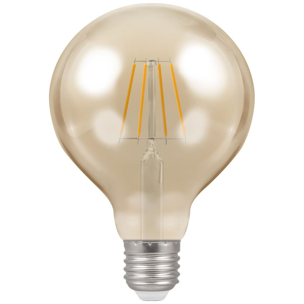 4290 - LED Globe G95 Filament Antique 5W Dimmable 2200K ES-E27