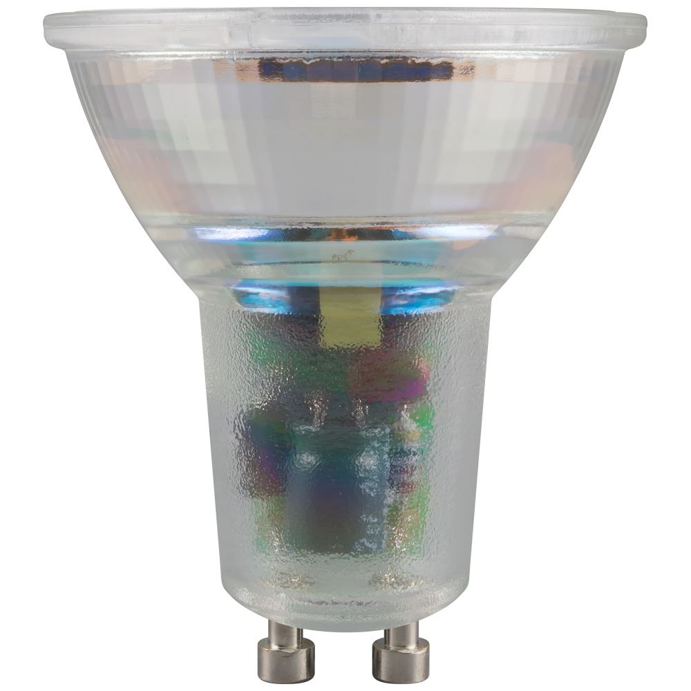 6102 - LED GU10 Glass SMD 5W Dimmable 2700K